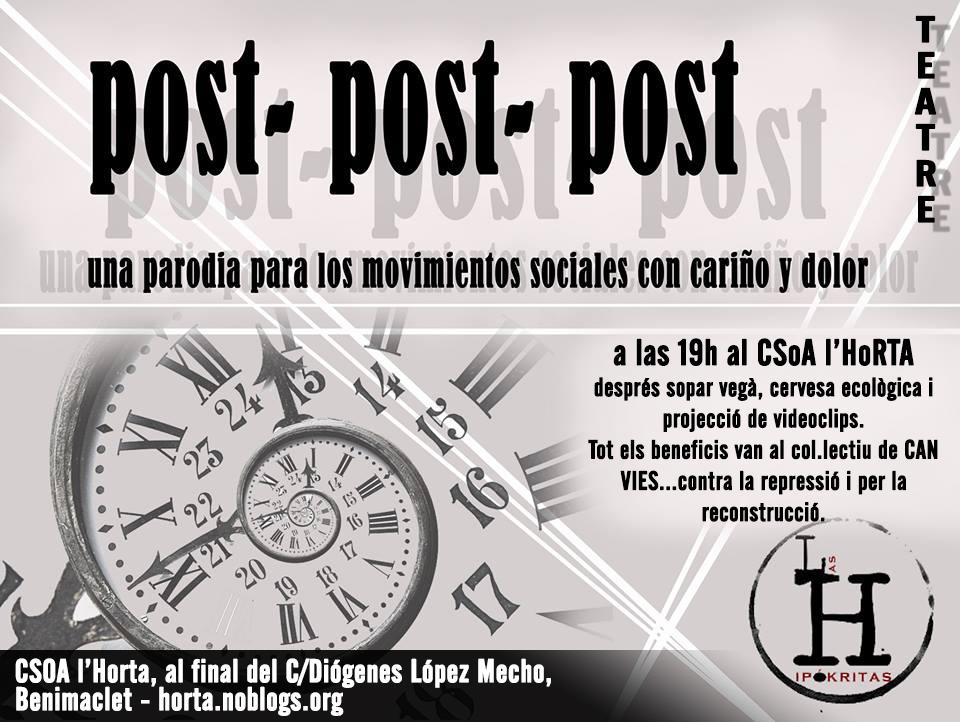 Cartell Kafeta Las Hipokritas
