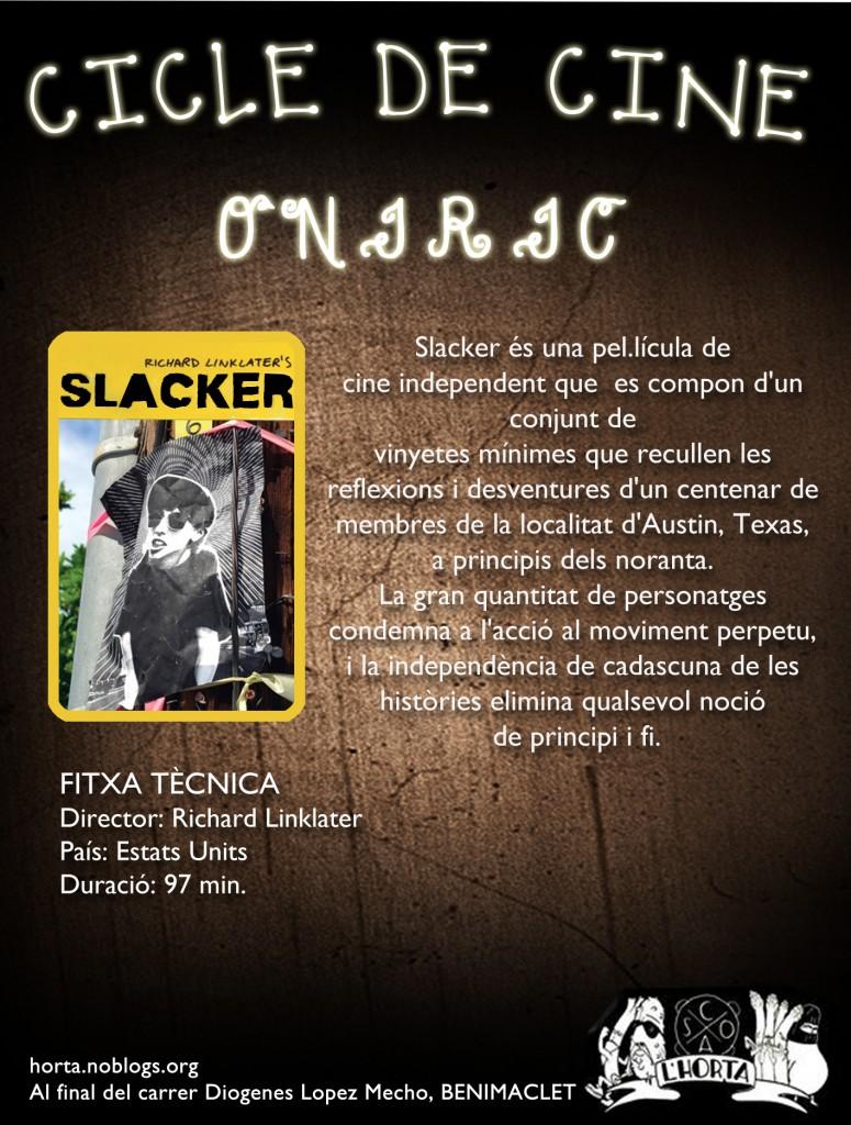 Cicle de cine slacker